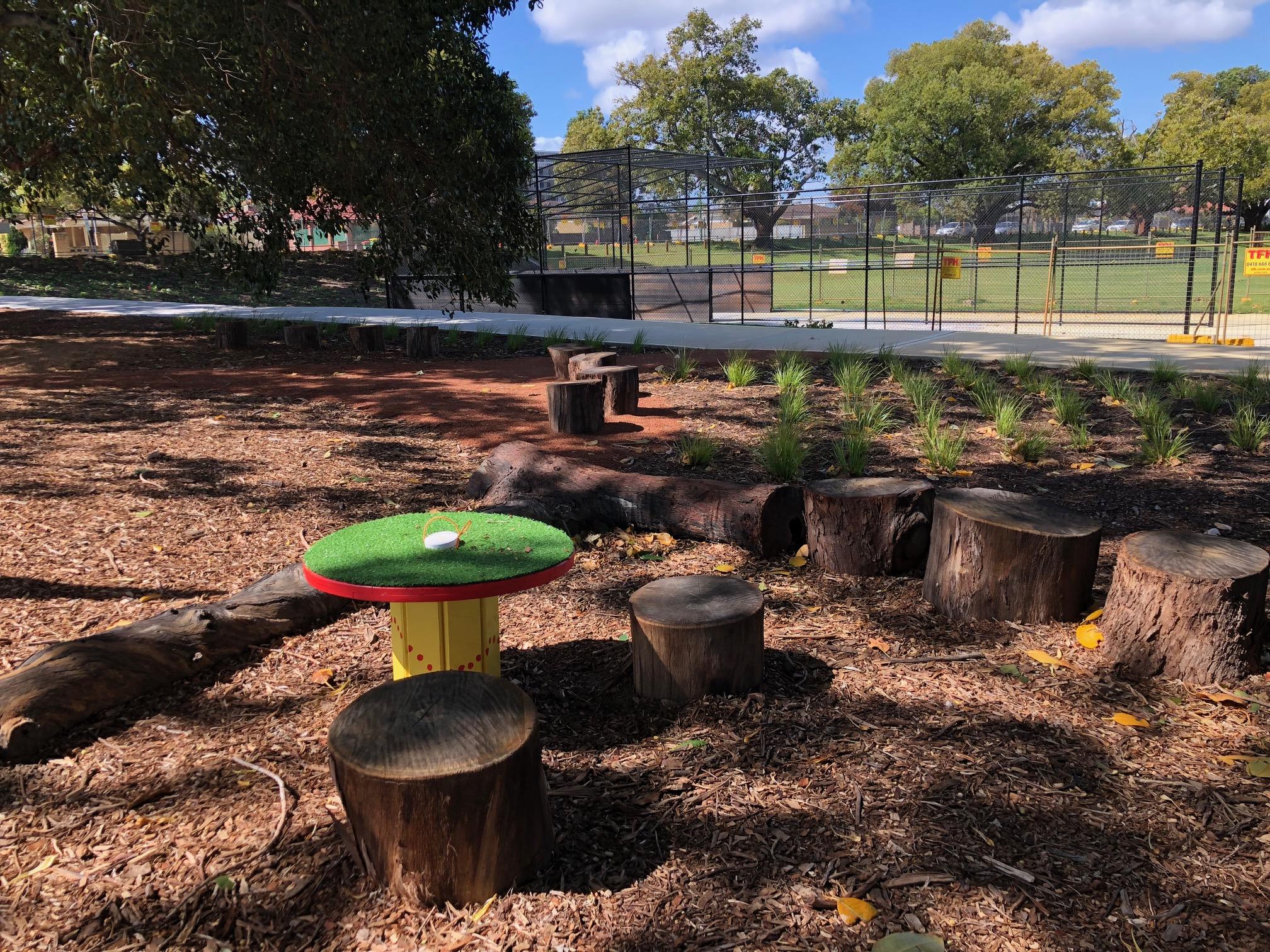 New nature playground open!